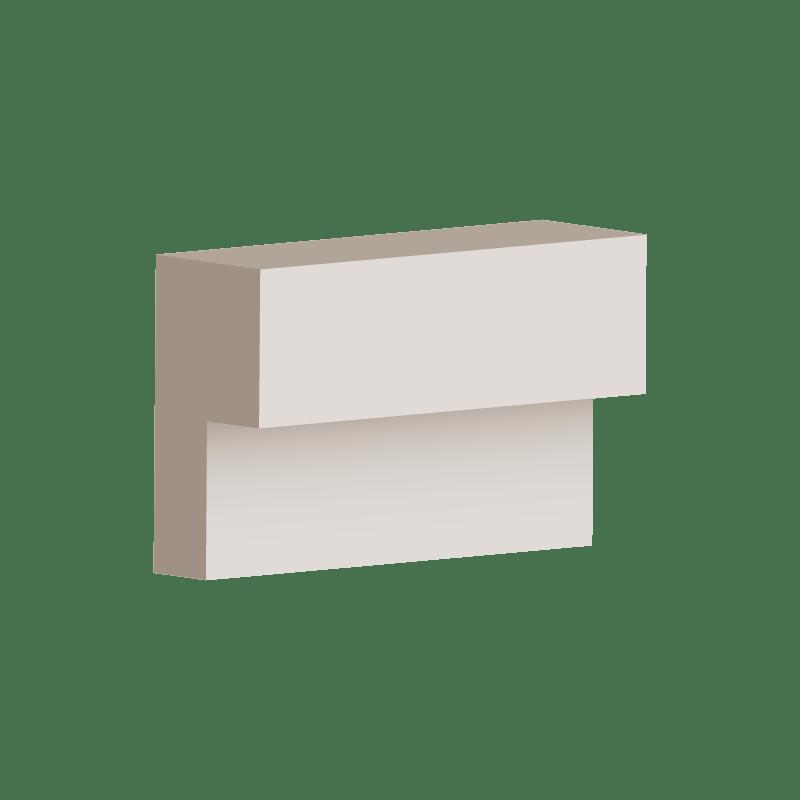 RL014 - Step Moulding 100mm x 50mm