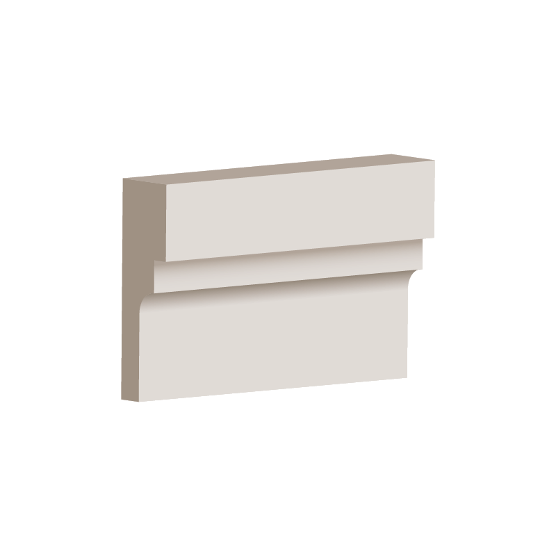 RL034 - Architrave Moulding 100mm x 30mm