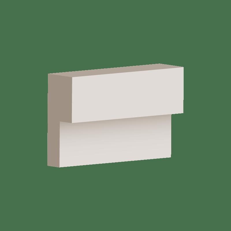 RL045 - Step Moulding 100mm x 40mm