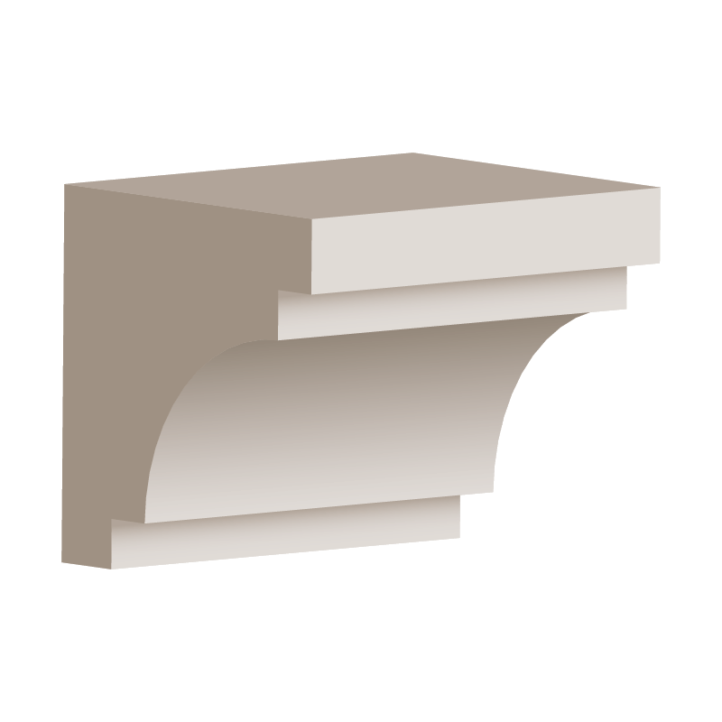 RL128 - Eave & Parapet Moulding 150mm x 150mm