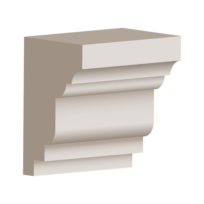 RL152 - Eave & Parapet Moulding 170mm x 110mm