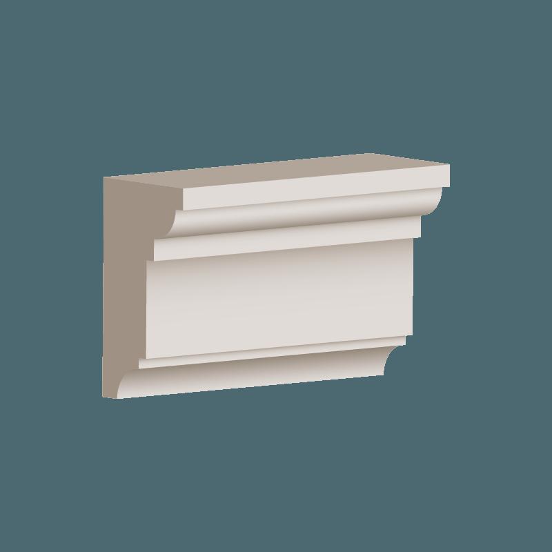 RL017 - Architrave Moulding 100mm x 55mm